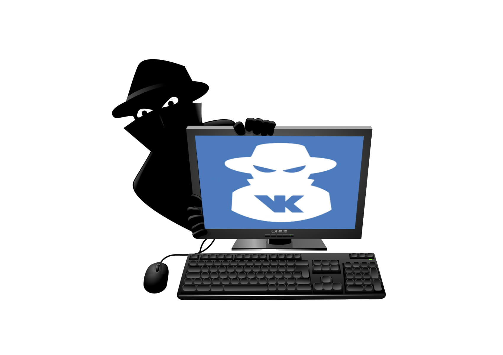 как взломать пароль вконтакте